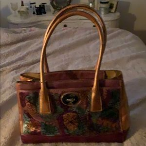 Custom Coach handbag